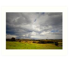 Southern Highlands Storms Art Print