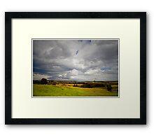 Southern Highlands Storms Framed Print