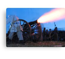 Confederate Candle Canvas Print
