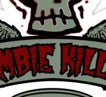 Zombie Killer Elite Sticker