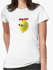 stay cool Womens Fitted T-Shirt