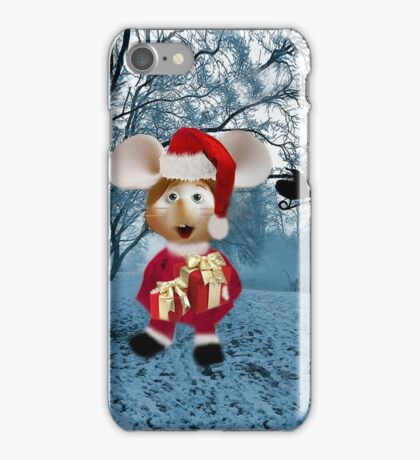 Topo Gigio CHRISTMAS SURPRISE PICTURE AND OR CARDS,PRINTS ECT iPhone Case/Skin
