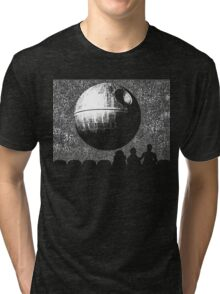 it's a fully functional SATELLITE OF LOVE Tri-blend T-Shirt