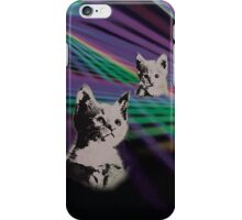 Cat on We Have Lasers iPhone Case/Skin