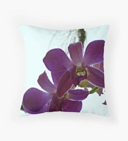 Orchid #27 Throw Pillow