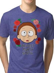 Protect Morty Smith Tri-blend T-Shirt