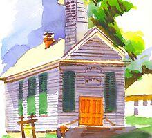Immanuel Lutheran Church, Pilot Knob, MO by KipDeVore