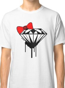 DIAMOND WITH A BOW TIE :D Classic T-Shirt
