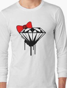 DIAMOND WITH A BOW TIE :D Long Sleeve T-Shirt