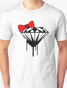 DIAMOND WITH A BOW TIE :D Unisex T-Shirt