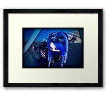 Blu II Framed Print