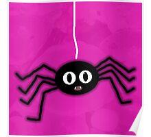 ITSY BITSY SPIDER - PINK Poster
