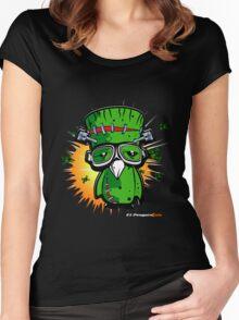 EL PENGUINSTEIN Women's Fitted Scoop T-Shirt