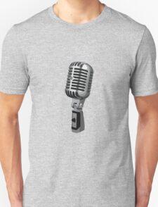 Shure 55 Classic Vintage Microphone  Unisex T-Shirt