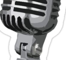 Shure 55 Classic Vintage Microphone  Sticker