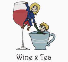 Wine x Tea by SevLovesLily