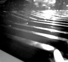 sunshine over the piano by Chelsea P