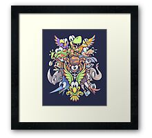 Who's Your Buddy? Framed Print