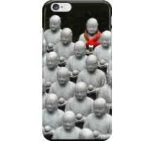 breaking the pattern: dare to be different iPhone Case/Skin