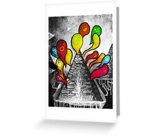 A Volcano of Souls (remix) Greeting Card