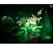 Halloween Beauty Photographic Print