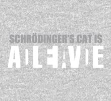 Schrödinger's cat is ADLEIAVDE One Piece - Long Sleeve