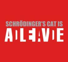 Schrödinger's cat is ADLEIAVDE One Piece - Short Sleeve