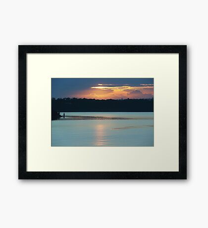 Till Sunbeams Find You Framed Print