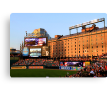 Inside Camden Yards Canvas Print