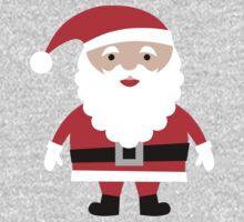 Cute Santa  One Piece - Long Sleeve