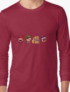 Mario/Wario Bros Long Sleeve T-Shirt