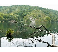 Lake in Croatia Photographic Print