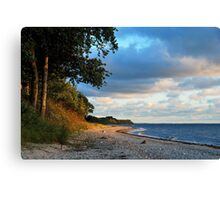 And again the Baltic Sea is calling Canvas Print