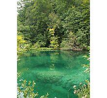 Green Lake Photographic Print