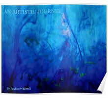 "My book ""An artistic journey"" Poster"