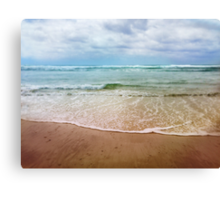 rainbow sea Canvas Print