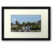 Townsville Architecture nearing the Warf.  Queensland. Framed Print