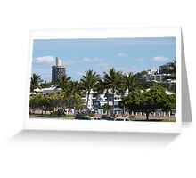 Townsville Architecture nearing the Warf.  Queensland. Greeting Card