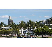 Townsville Architecture nearing the Warf.  Queensland. Photographic Print