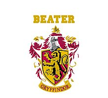 Gryffindor Beater Photographic Print