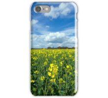 Sunny field iPhone Case/Skin
