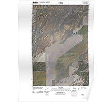 USGS Topo Map Washington State WA Clyde 20110404 TM Poster