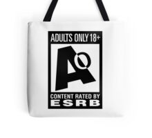 Adults Only! Tote Bag
