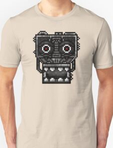 Five Nights at Freddy's 1 - Pixel art - Endoskeleton - Red Unisex T-Shirt