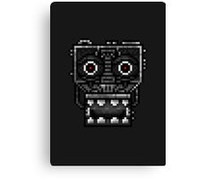Five Nights at Freddy's 1 - Pixel art - Endoskeleton - Red Canvas Print