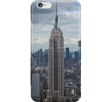 Empire State Building portrait iPhone Case/Skin