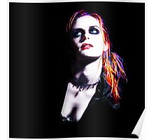 Kristen Stewart - Luminous Punk Glow Poster
