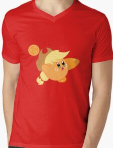 Kirby applejack Mens V-Neck T-Shirt