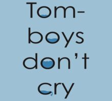 Tomboys don't cry by pruine