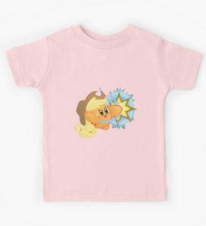 Kirby applejack 2 Kids Tee